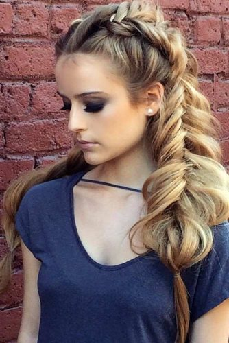 Hairstyles with Fishtail Braid picture3