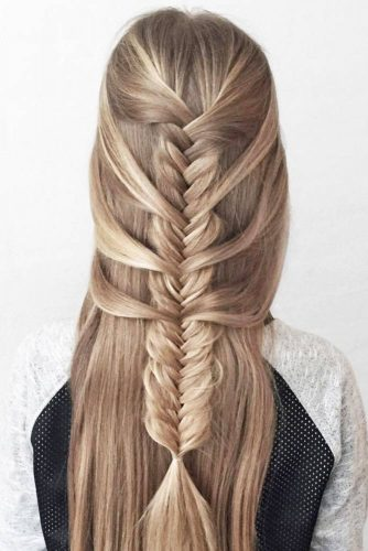 Different Types of Fishtail Braid picture 1