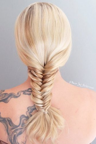 Different Types of Fishtail Braid picture 2