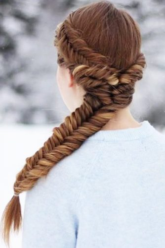 Different Types of Fishtail Braid picture 3