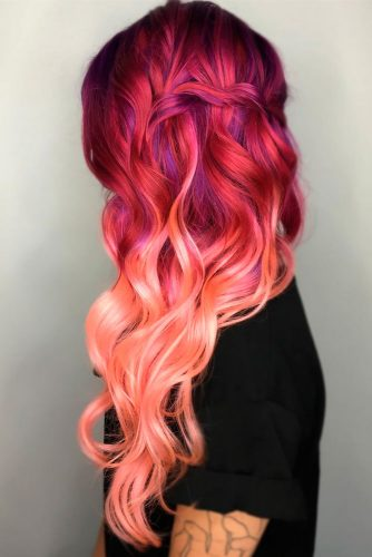 Ombre Ideas for Long Pink Hair picture 1