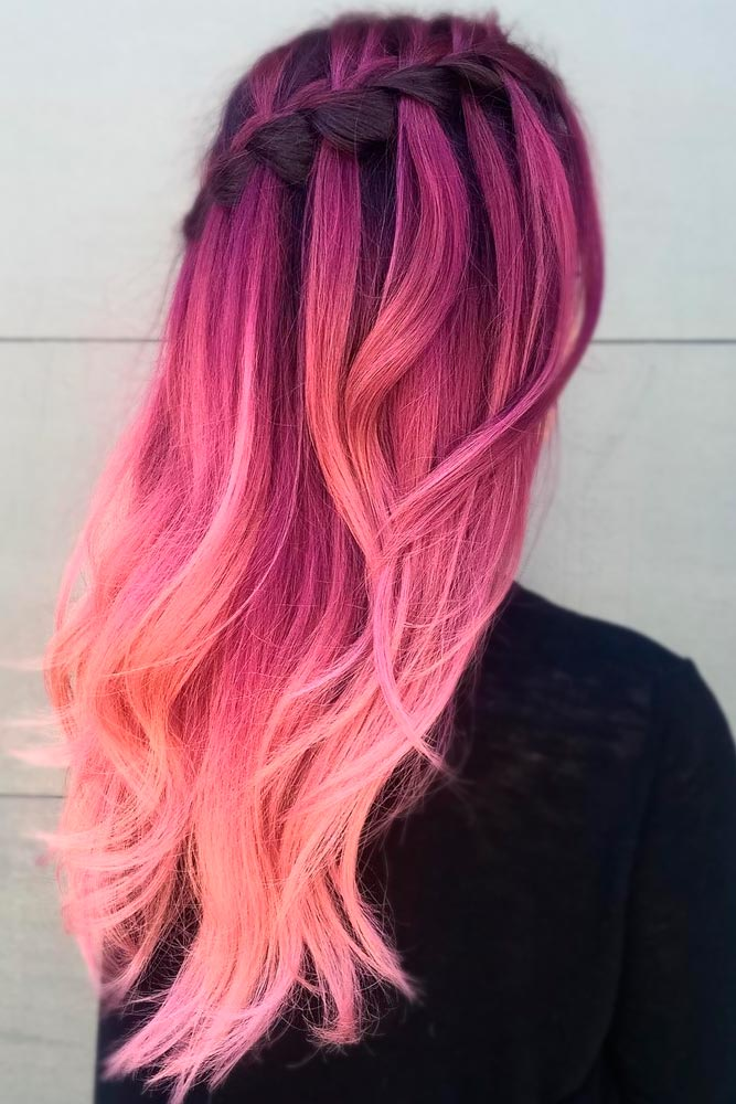 Ombre Ideas for Long Pink Hair picture 3