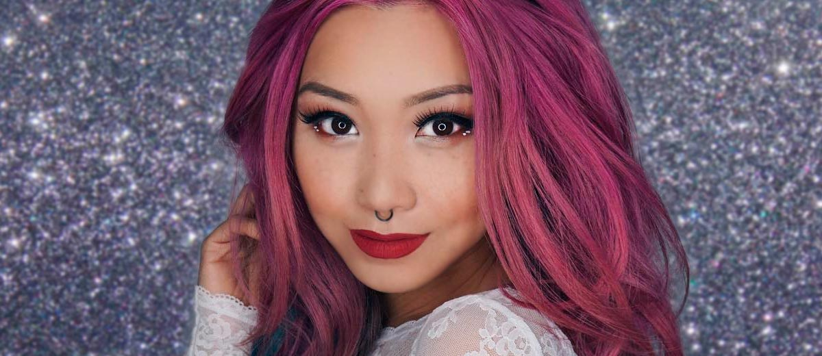 Fun Hairstyles For Long Pink Hair Lovehairstyles Com