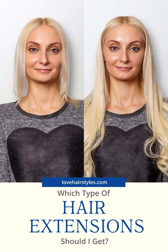 Which Type Of Hair Extensions Should I Get #hairextensions