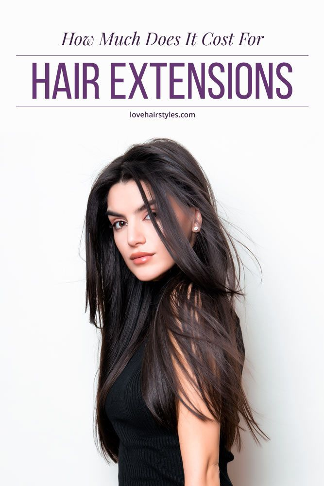 How Much Does It Cost For Hair Extensions #hairextensions