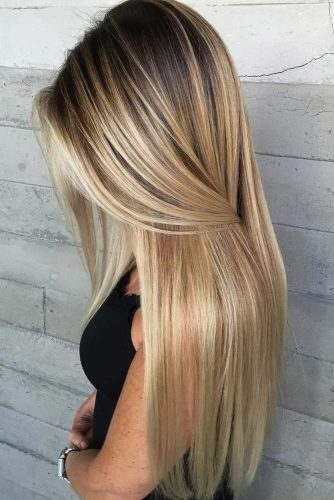 Hairstyles for Long Thin Hair picture 3