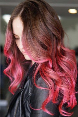 Hot Pink Ombre #ombre