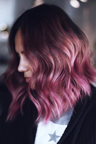 Dark Rose Ombre #ombre