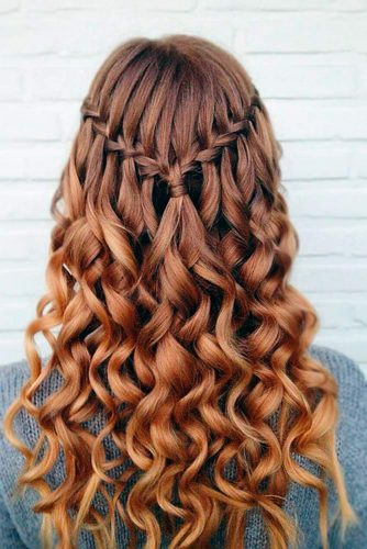 Super Gorgeous Look with Waterfall Braids picture 1
