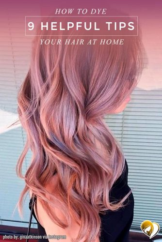 Dusty Pink Balayage