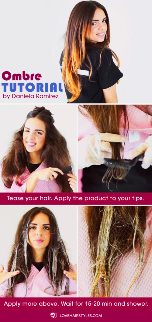 Easy Ombre Hair At Home #hairtutorial #ombre