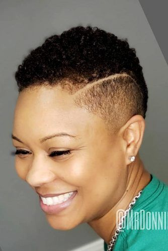 Kinky Afro #naturalhairstyles #shorthair #twahair
