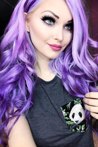 Trend Pastel Purple Hair Color picture2