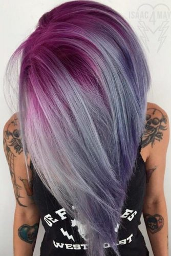 Fantastic Color Ideas with Pastel Lavender Hair picture 2
