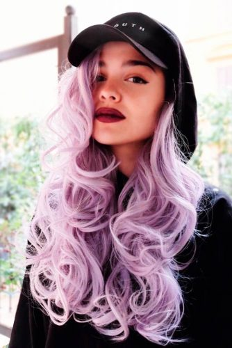 Exposition of Purple Hair Color picture2
