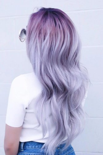 Trend Pastel Purple Hair Color picture3