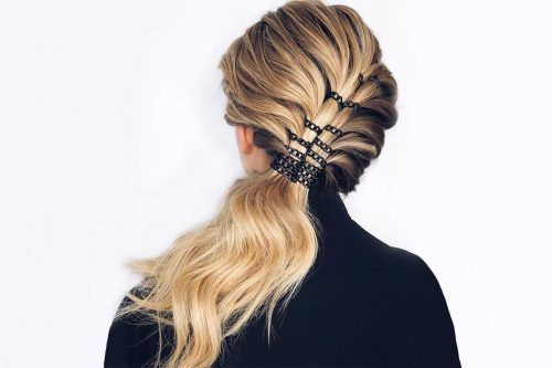 Sexy & Daring Hairstyles You Can Create With Hair Rings