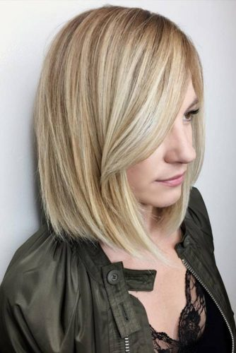 Straight Hairstyles for Medium Length Hair picture3