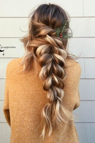 Lovely Pull Through Braid Hairsyles picture 1