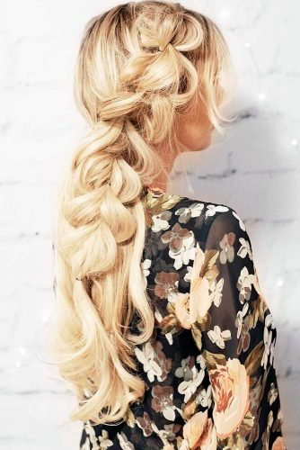 Lovely Pull Through Braid Hairsyles picture 3