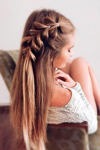 Easy and Beautiful Pull Through Braid Hair picture 1