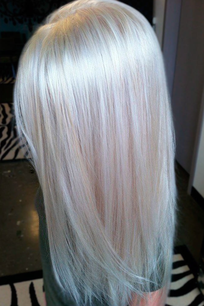 Silk and Shiny Ash Blonde Hair picture 3