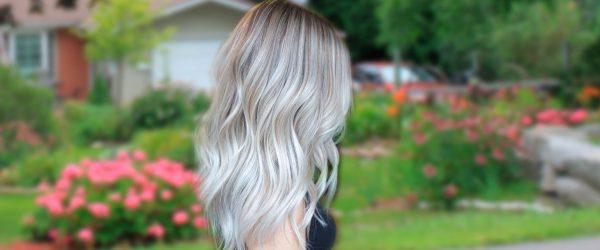 Pretty Shades of Platinum Blonde Hair