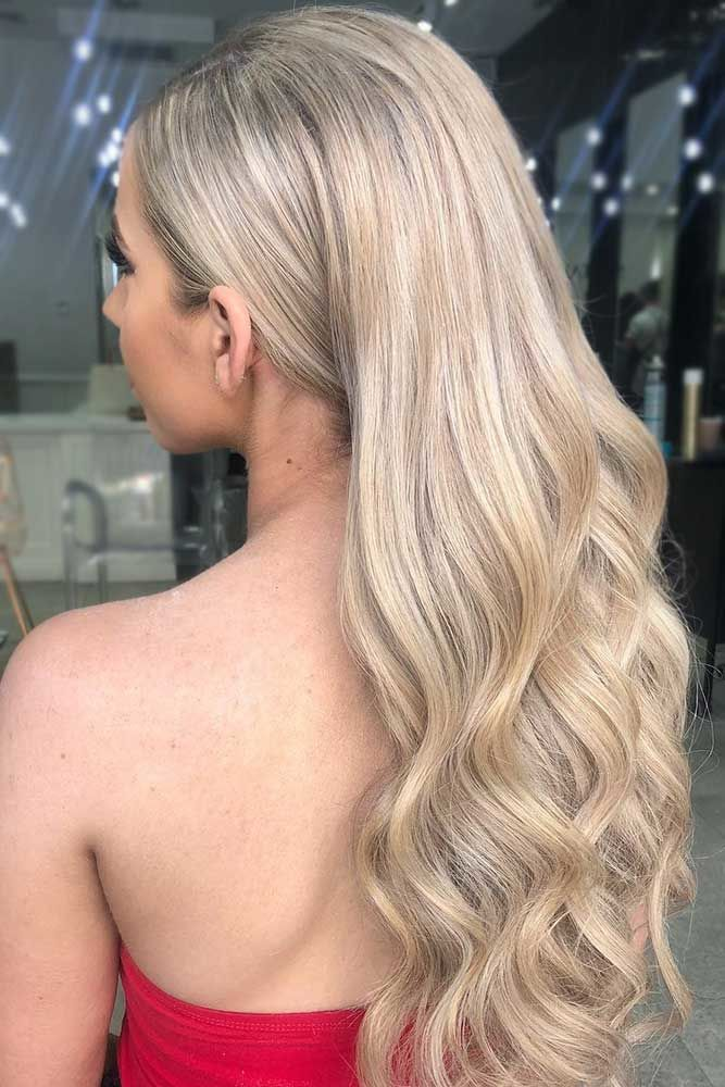 Platinum Blonde For Light Brown Hair Waves #blondehair #platinumblonde