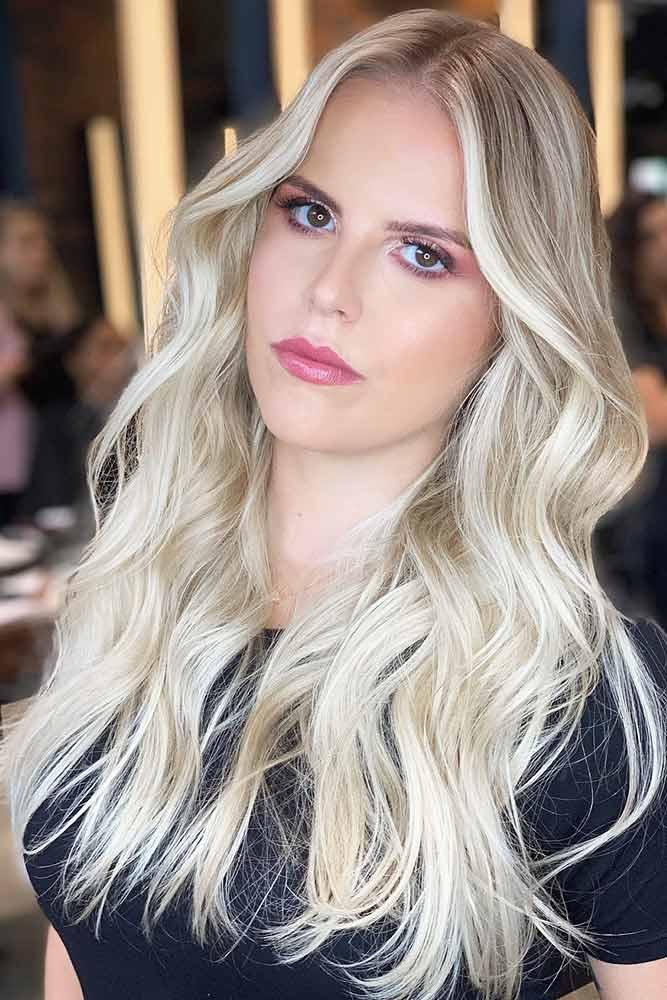 Silk And ShinyBlonde Hair Shades #blondehair