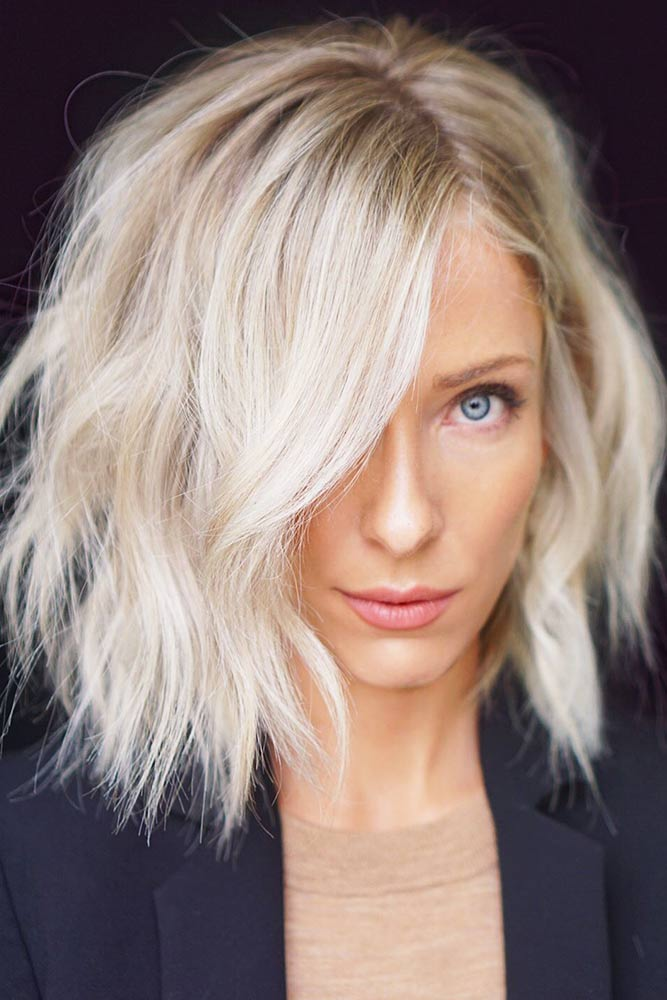 Platinum Blonde For Light Brown Hair Medium #platinumblonde #blondehair