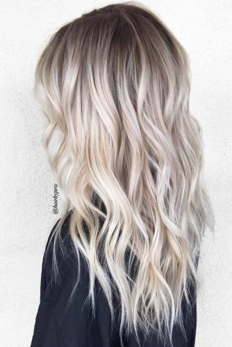 Babylights for Long Layered Blonde Hair