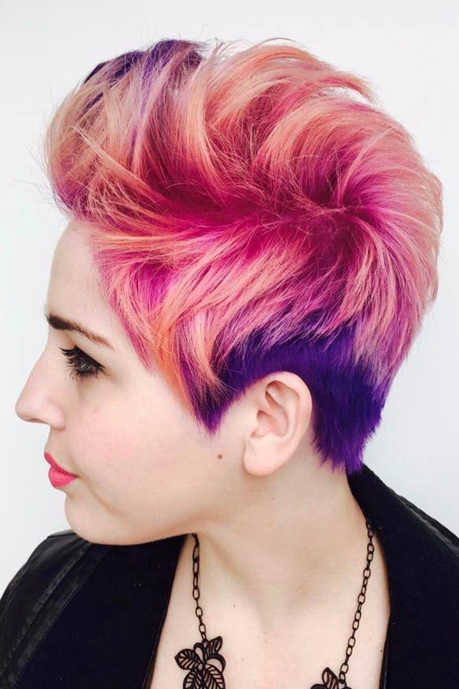 Grunge Girl #shorthaircuts #pixiecut #layeredpixie