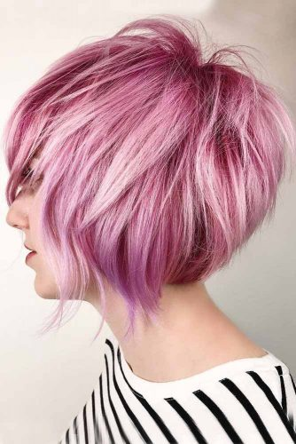 Trendy Messy Bob Hairstyles picture3