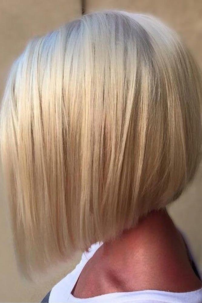 Blonde Fabulous A line Bob #shorthaircuts #bobhaircut #layeredhaircut #haircuts
