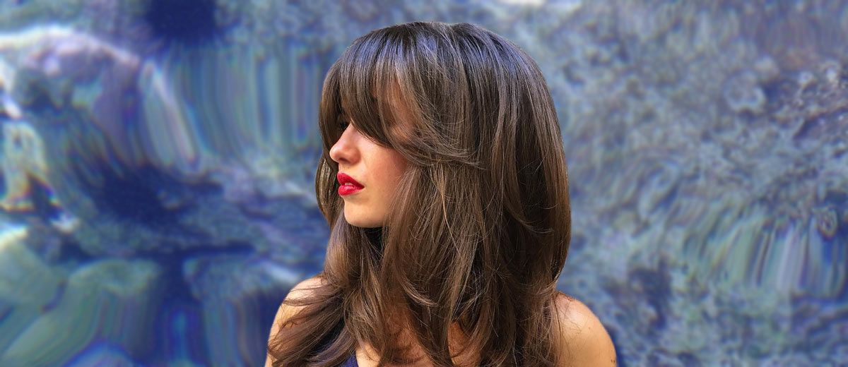 how to style bangs with long hair 21 hair with bangs styling ideas lovehairstyles 9150 | style ideas long hair with bangs