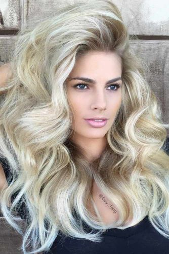 Full Voluminous Long Hairstyles