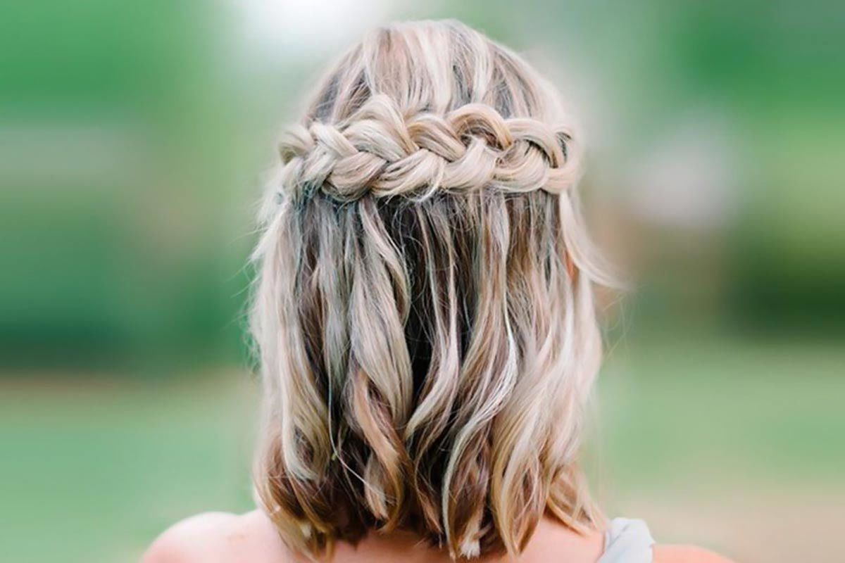 15 Cute Braided Hairstyles For Short Hair Lovehairstyles Com