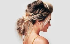 Step Tutorial For A Fun Variation Of Braided Updos
