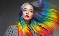 Chic Hidden Rainbow Hair is the Magic You Need For 2017