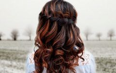 How to Do a Waterfall Braid Step by Step