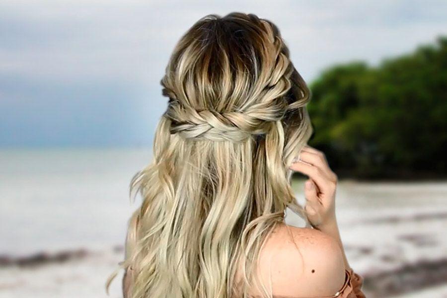 Twisted Crown Braid Tutorial