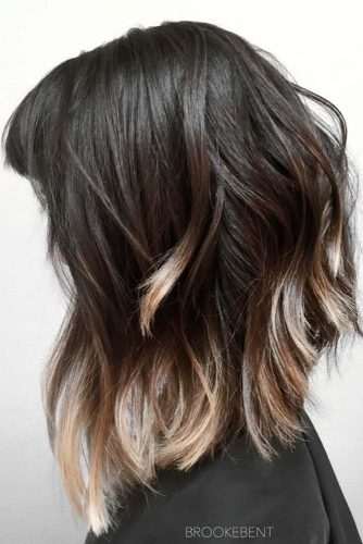 Beautiful Highlights on Long Bob picture2