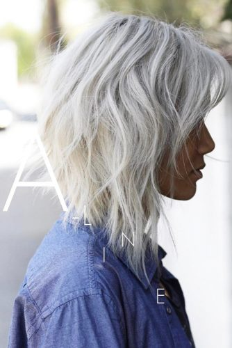 Silver Shade of Blonde Hair Color picture 1