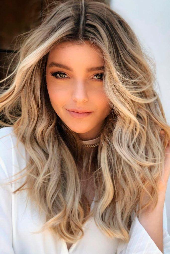 Buttery Blonde Hair