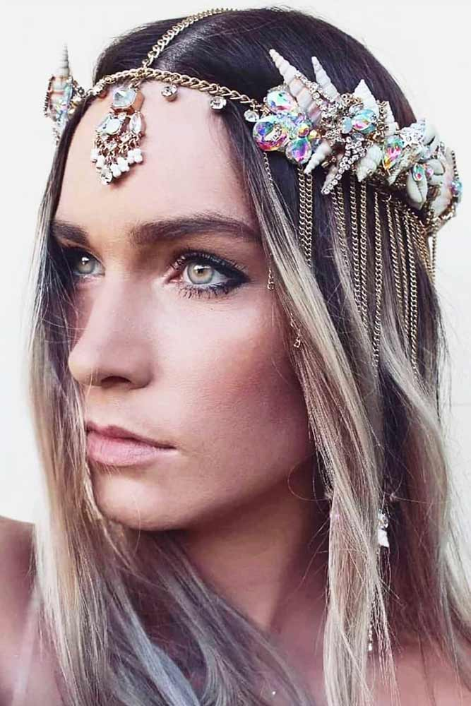 Mermaid Halo Crown #hairaccessories
