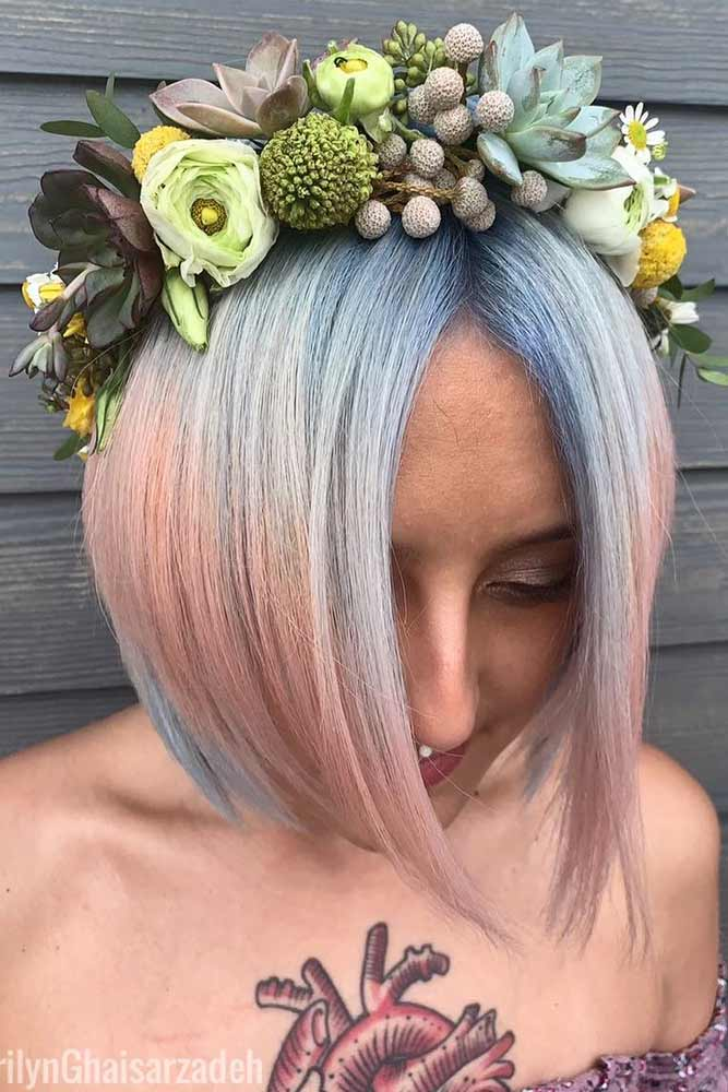 Colorful Floral Hoop #hairaccessories