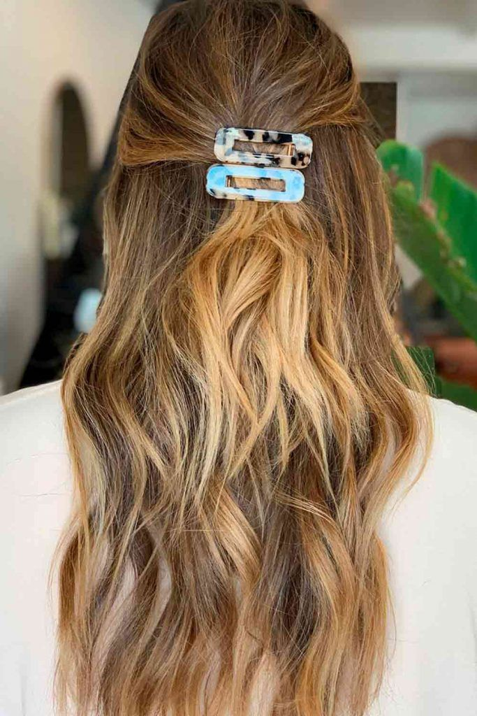 Hair Barrettes With Leopard Pattern #animalpattern #barrettes