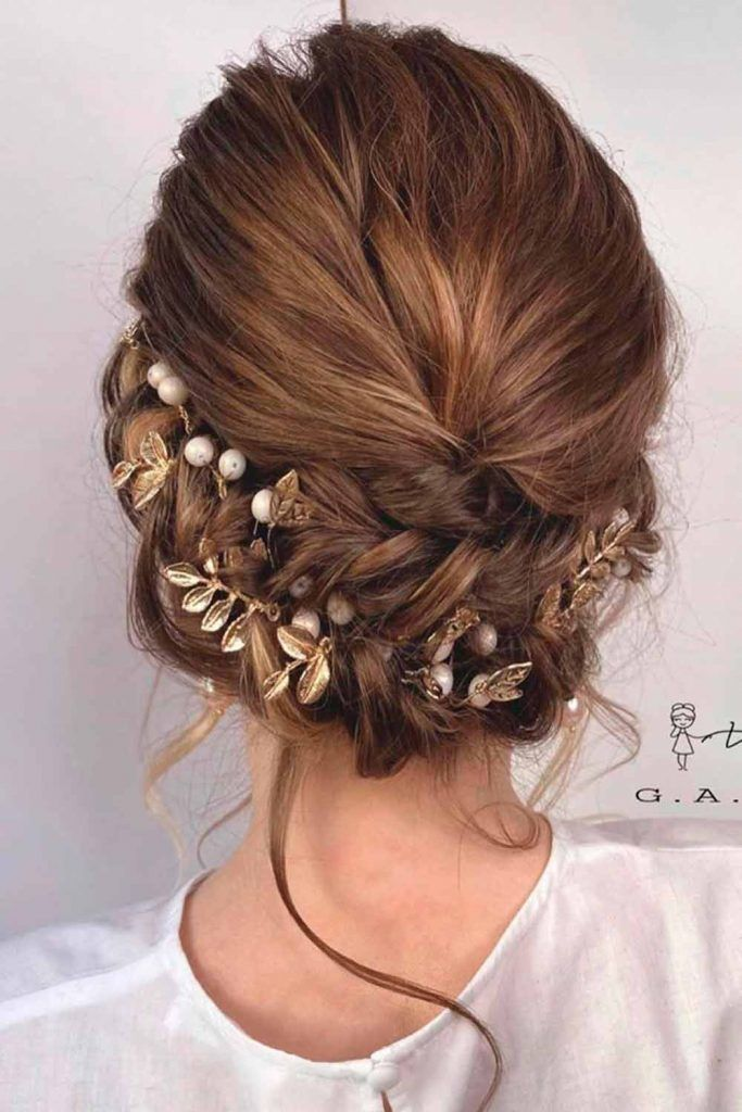 Hair Combs For Beautiful Updo #beautyfulhairstyles #hairstyles