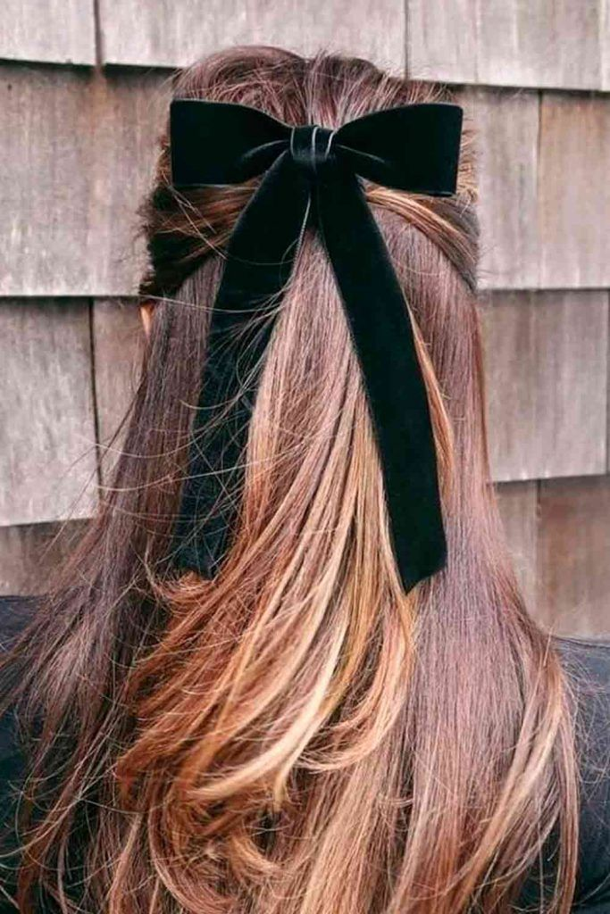 Velvet Hair Ribbons #hairribbons #velvetribbons