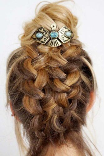 Vintage Bun Pin #hairaccessories